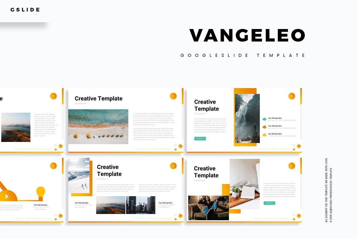 Vangeleo - Google Slide Template