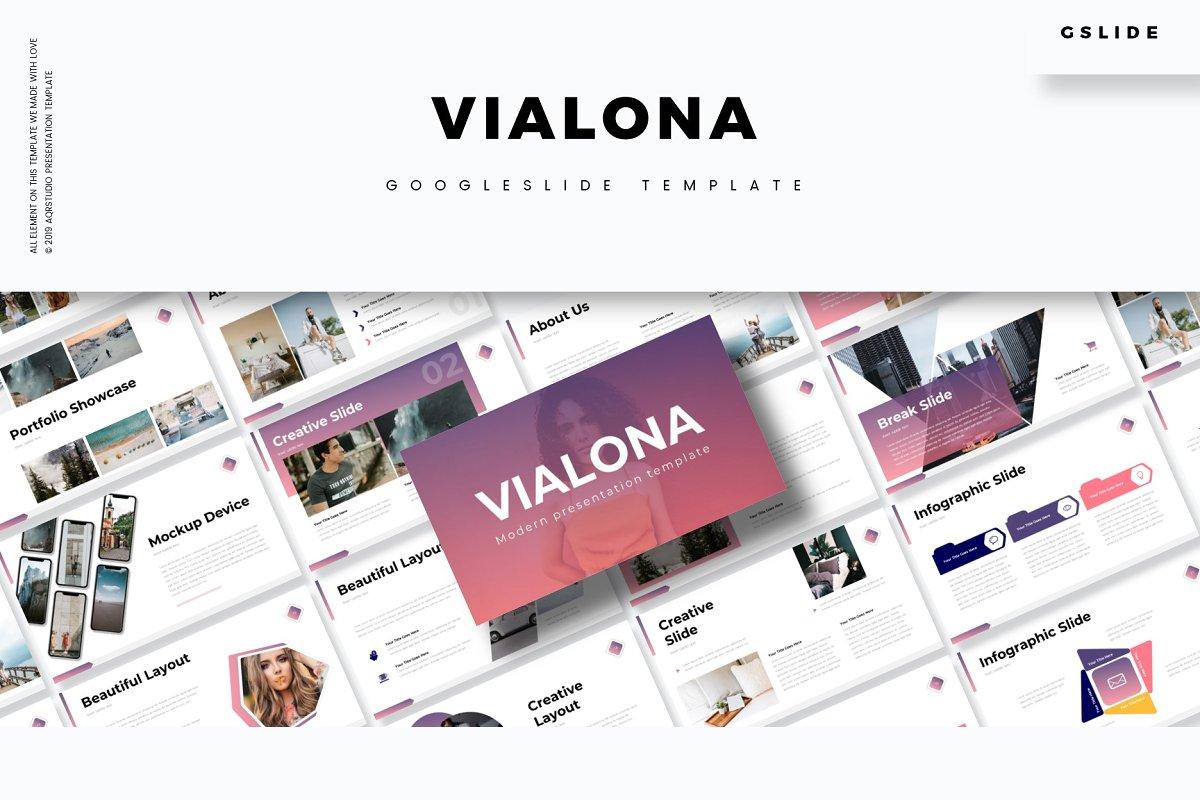 Vialona - Google Slide Template