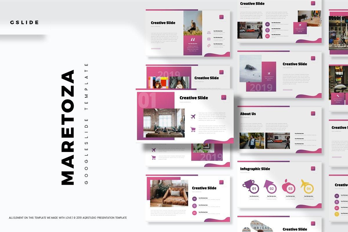 Maretoza - Google Slide Template
