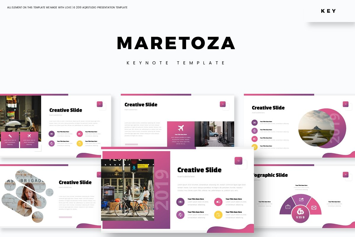 Maretoza - Keynote Template