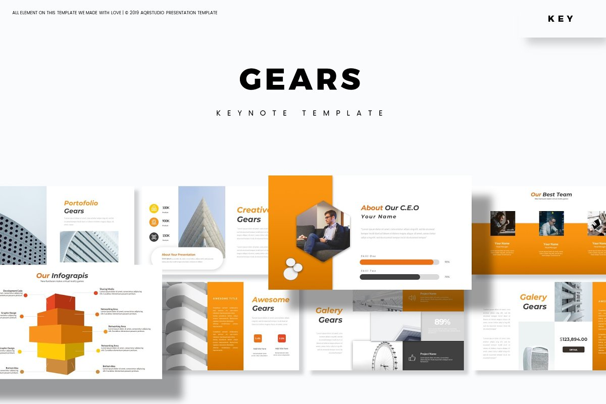 Gears - Keynote Template