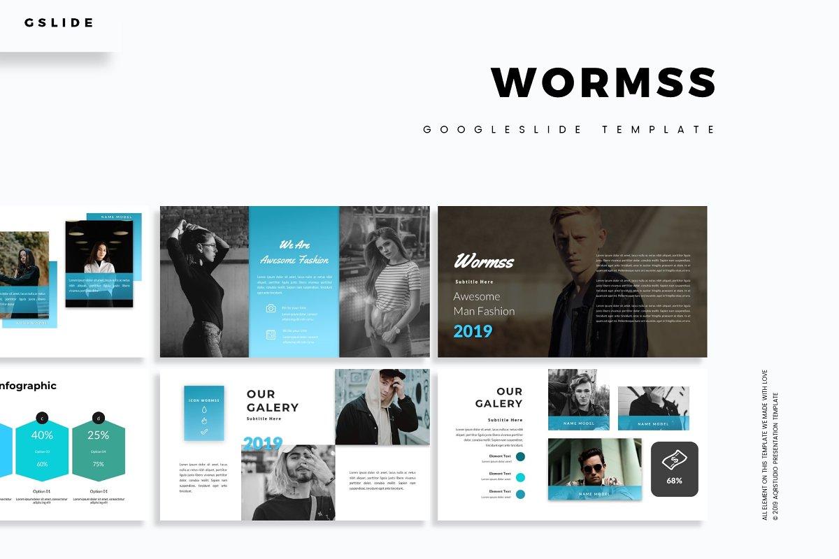Wormss - Google Slide Template