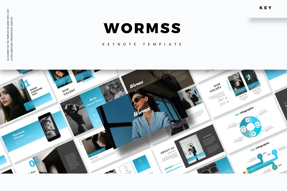 Wormss - Keynote Template