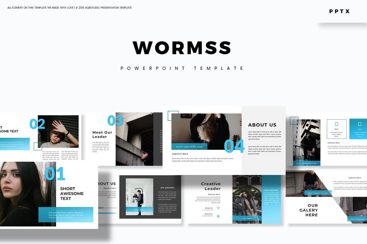 Wormss - Powerpoint Template