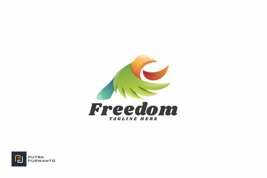 Freedom Logo Template Logo Templates Creative Market