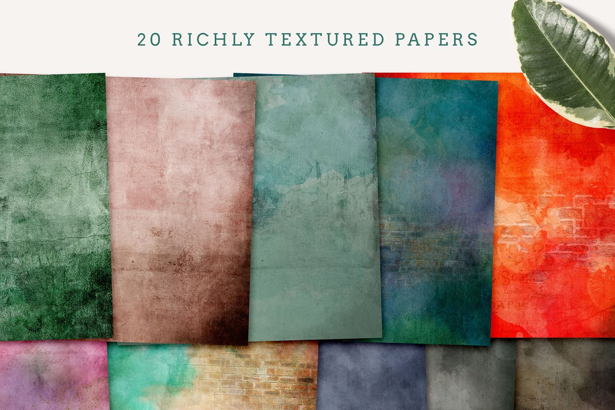 Luscious Textured Papers in Textures - product preview 2