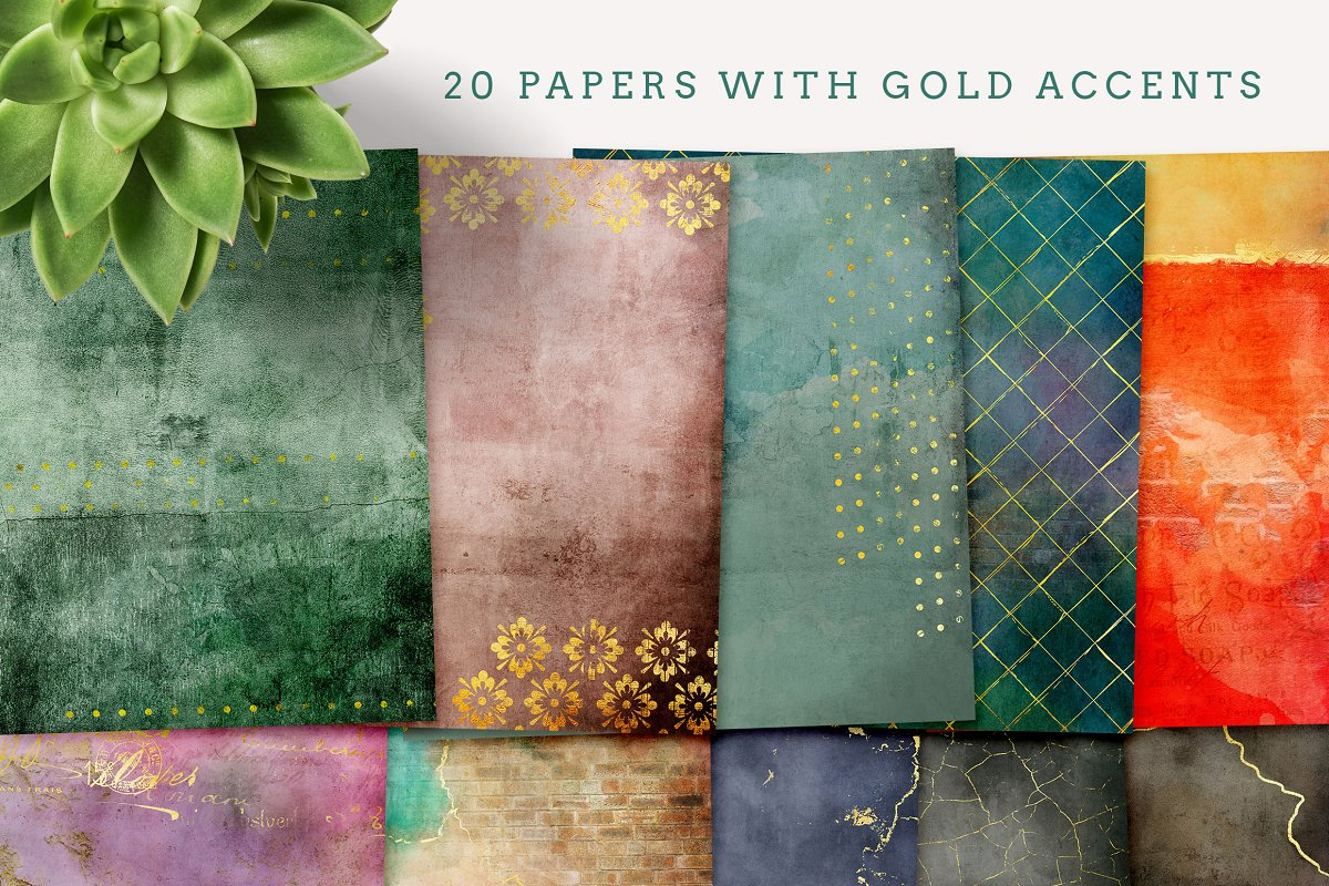 Luscious Textured Papers in Textures - product preview 3