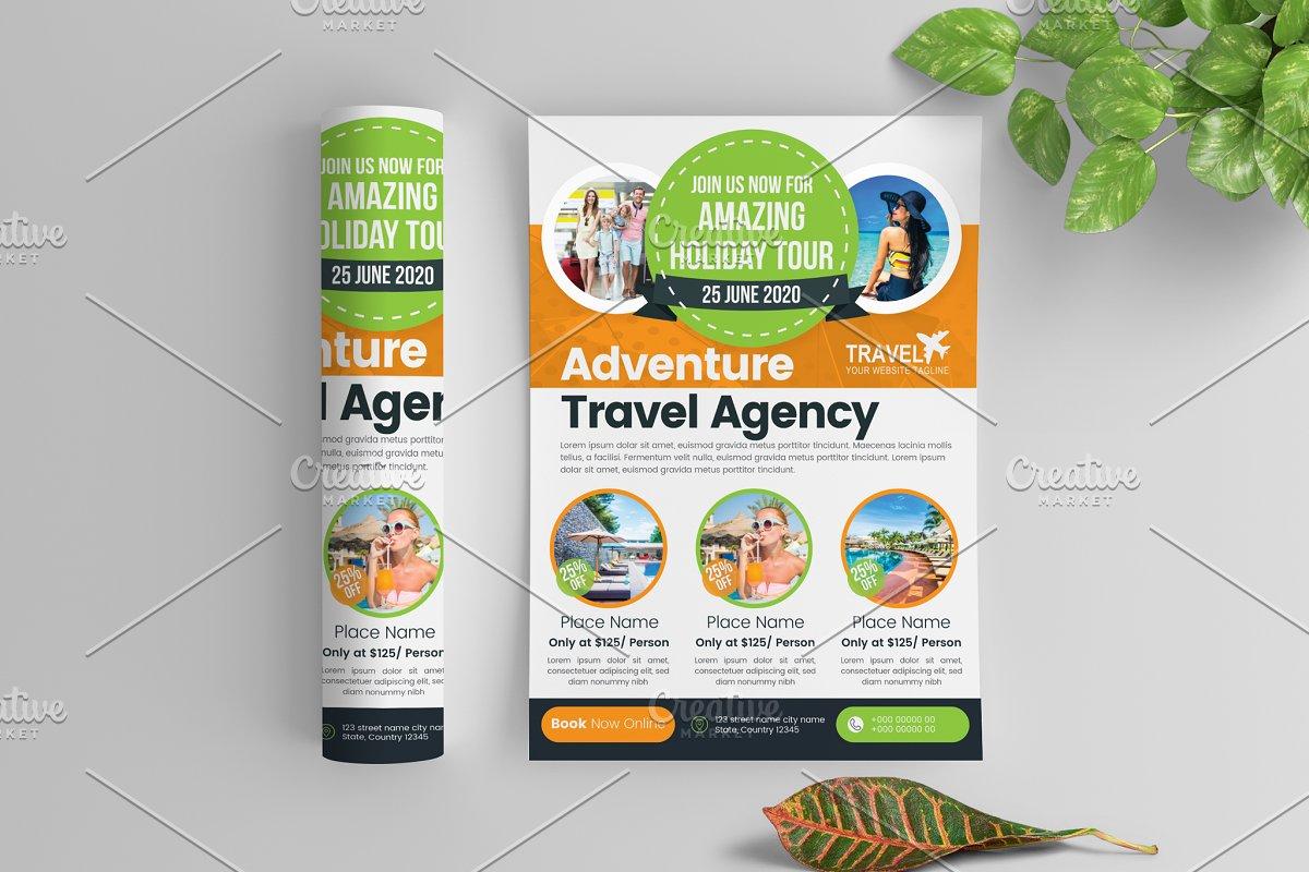 Amazing Travel & Tour Flyer