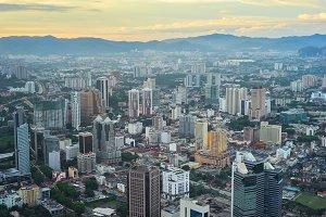 Kuala Lumpur. View from above