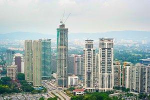 Construction of skyscraper, KL
