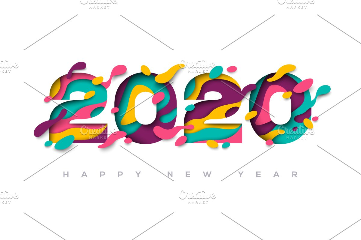 2020 Happy New Year Greeting