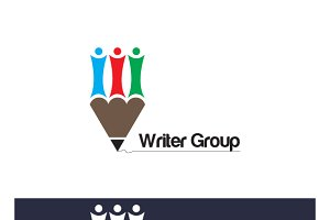 Writer Group Logo Template