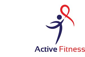 Active Fitness Logo Template