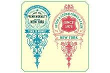 Premium Quality insignias.