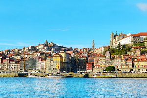 Skyline of Porto Old Town
