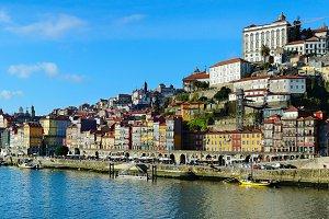 Porto Old Town skyline