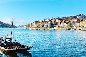 Panoramic Porto view, Portugal