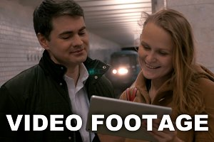 Firends with Tablet PC Metro Station