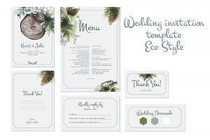 Invitation Fairy Tale Forest