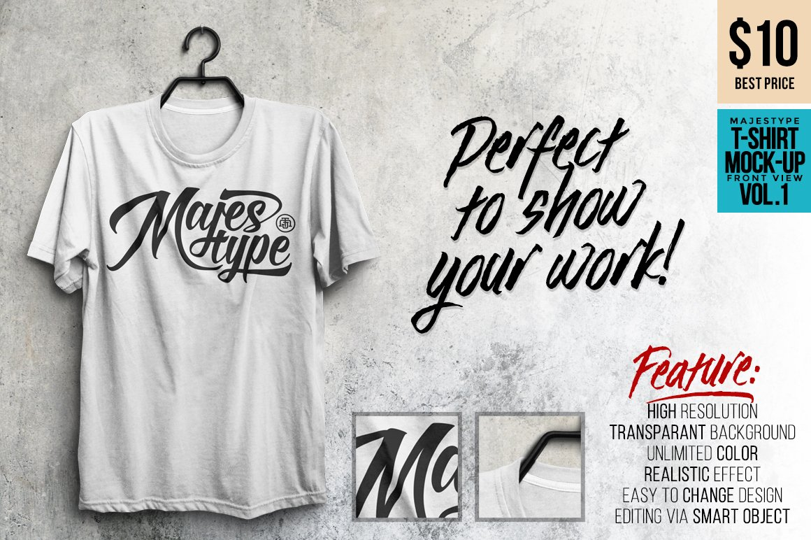 Mjt realistic t shirt mock up product mockups creative for T shirt mockup template free download
