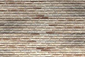 Curve brick wall