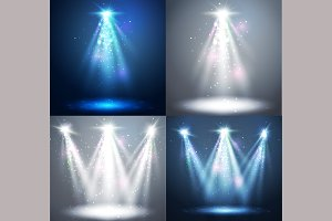 Abstract  spotlight background.
