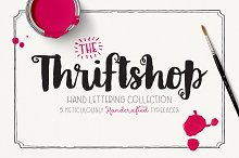 handwrit font collect