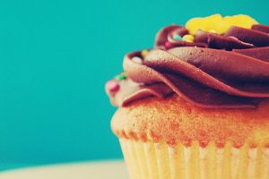 Cupcake - Stock Photography