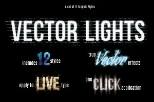 Vector Text Effect Graphic Styles v2