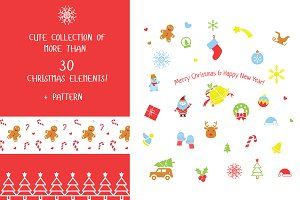 Christmas collection, clipart