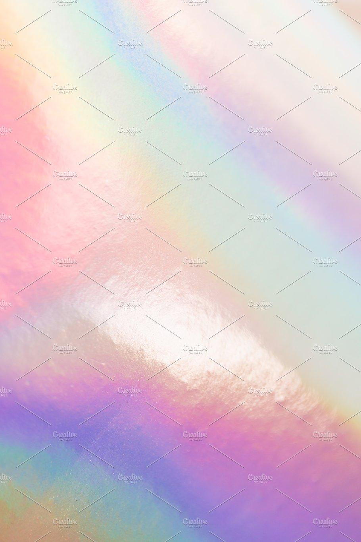Holographic neon shiny background