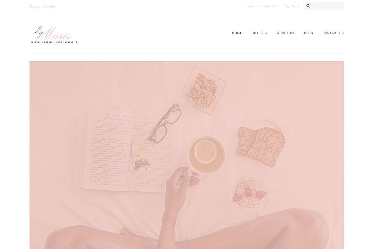 byMaris - Minimal E-commerce Theme