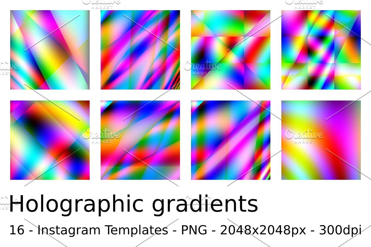 16 Holographic gradients