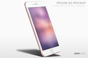 iPhone 6s with 3D Touch Mockup