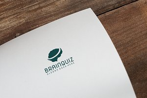 Brain Quiz Logo