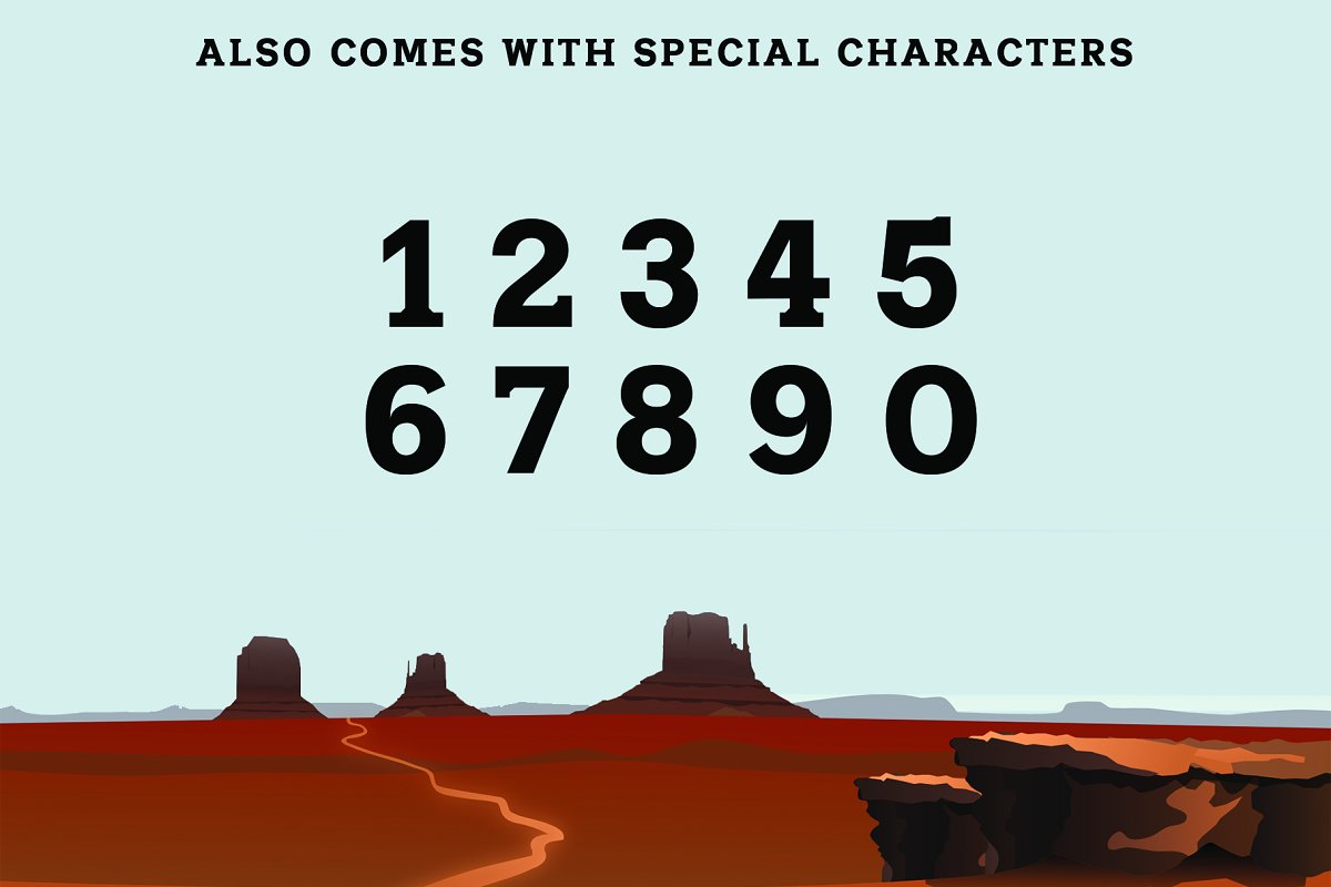 SHERIFF: A Font of the Wild West