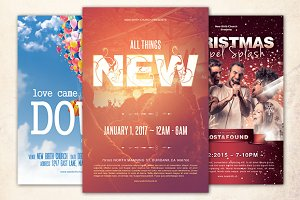 Church Festival Flyer Bundle