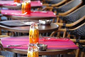 Paris Cafe Tables