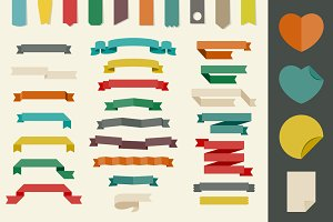 Ribbons and other design elements