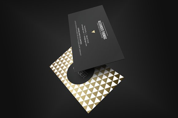 Premium gold business card business card templates creative market accmission Image collections