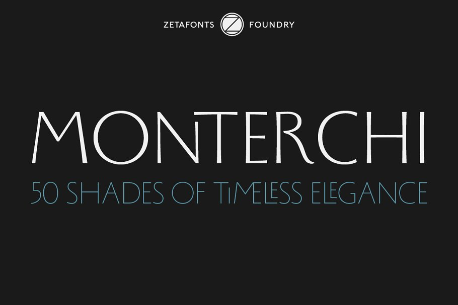 Monterchi - 50 fonts 85% OFF!