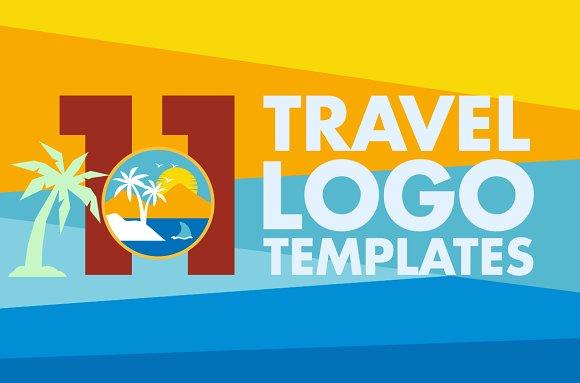 11 Travel Logo Templates