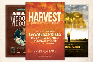 Church Message Flyer Bundle