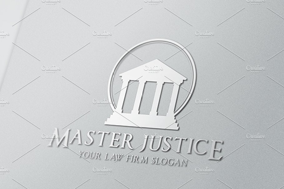 Master Justice in Logo Templates - product preview 8