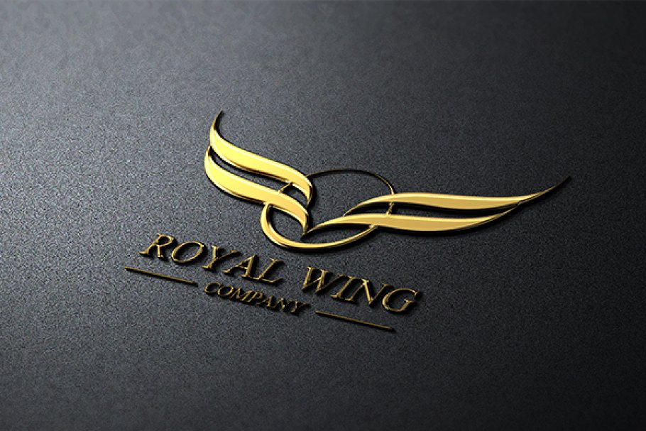 Royal Wing in Logo Templates - product preview 8