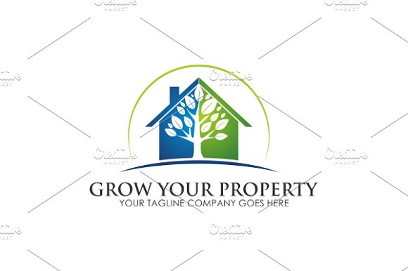 Tree House Logo in Logo Templates - product preview 1