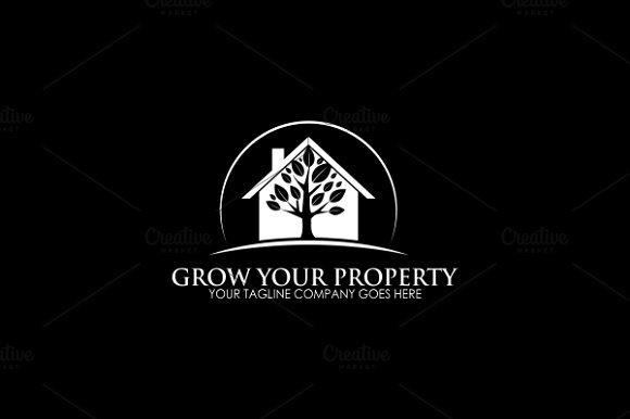 Tree House Logo in Logo Templates - product preview 2