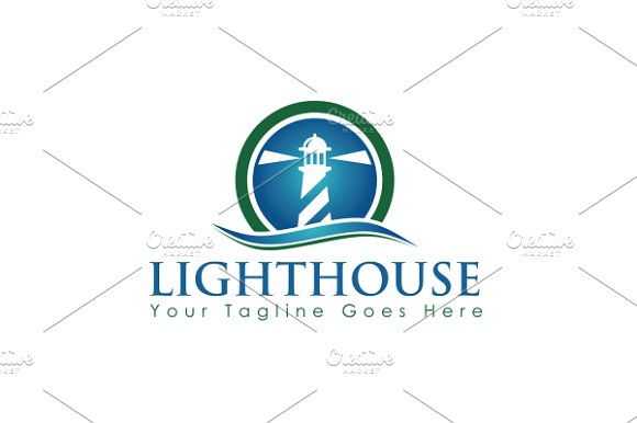 Lighthouse Logo in Logo Templates - product preview 1