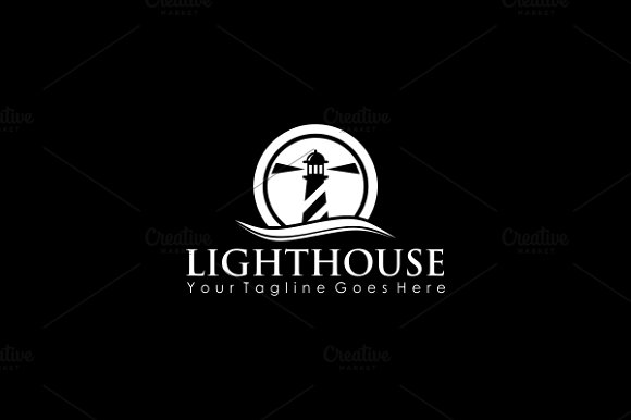 Lighthouse Logo in Logo Templates - product preview 2