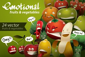 Emotional fruits & vegetables